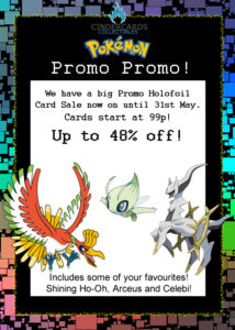 Pokemon Card Promo Sale!