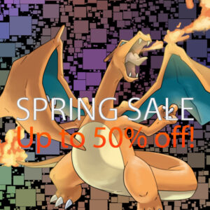 Our Spring Sale is now live!